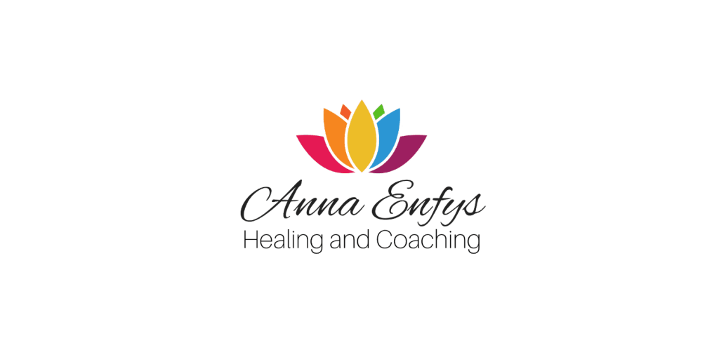 Final logo design for Anna Enfys Healing and Coaching