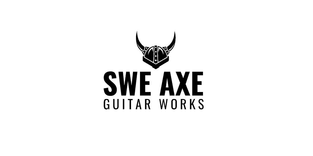 Final logo design for SweAxe Guitars